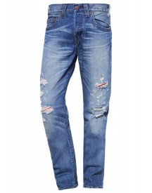 True Religion Rocco Relaxed Fit Jeans Blue Denim afbeelding