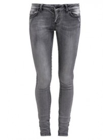 Vero Moda Vmfive Slim Fit Jeans Light Grey afbeelding