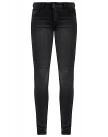 Vila Vicommit Slim Fit Jeans Black afbeelding