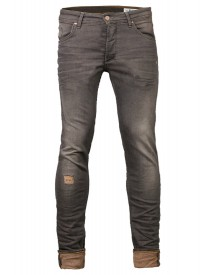 We Fashion Slim Fit Jeans Grey afbeelding