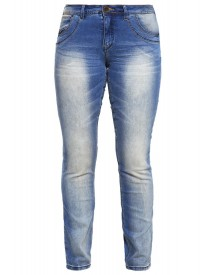 Zizzi Emily Slim Fit Jeans Blue Denim afbeelding