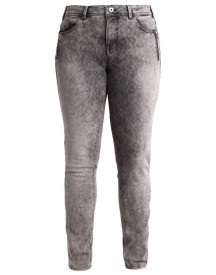 Zizzi Sanna Slim Fit Jeans Grey Denim afbeelding