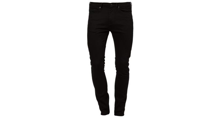 Image Topman Morgan Slim Fit Jeans Black