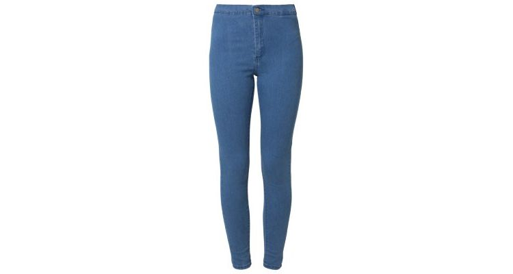 Image Topshop Joni Slim Fit Jeans Mid Denim