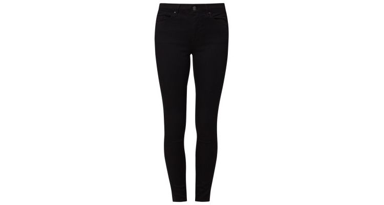 Image Topshop Leigh Slim Fit Jeans Black