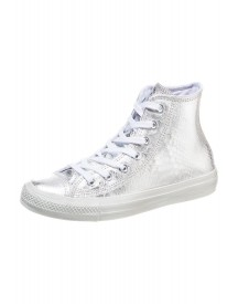Converse Chuck Taylor All Star High Sneakers Hoog Silver/white afbeelding