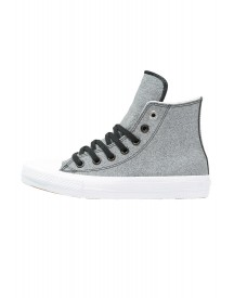 Converse Chuck Taylor All Star Ii Leather Sneakers Hoog Black/white afbeelding