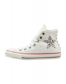 Converse Chuck Taylor All Star Sneakers Hoog Egret afbeelding