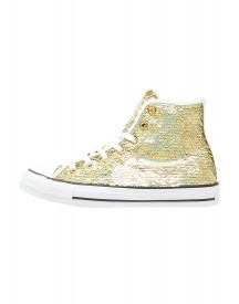 Converse Chuck Taylor All Star Sneakers Hoog Gold/white afbeelding