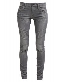 Gstar 5620 Custom 3d Mid Skinny Jeans Skinny Fit Slander Grey Superstretch afbeelding
