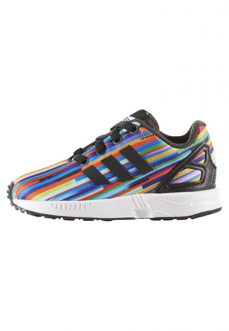 Image Adidas Originals Zx Flux Sneakers Laag Core Black