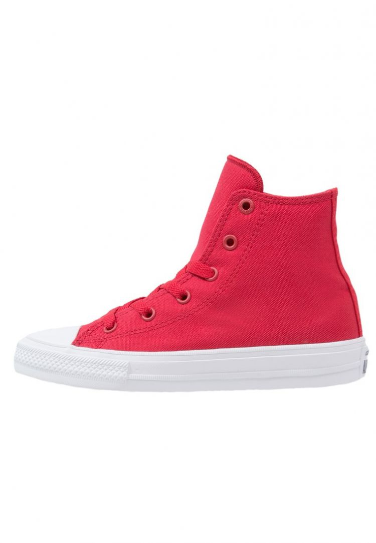 Image Converse Chuck Taylor All Star Ii Core Sneakers Hoog Salsa Red