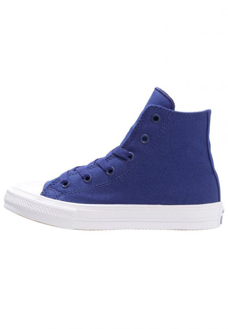 Image Converse Chuck Taylor All Star Ii Core Sneakers Hoog Solidate Blue