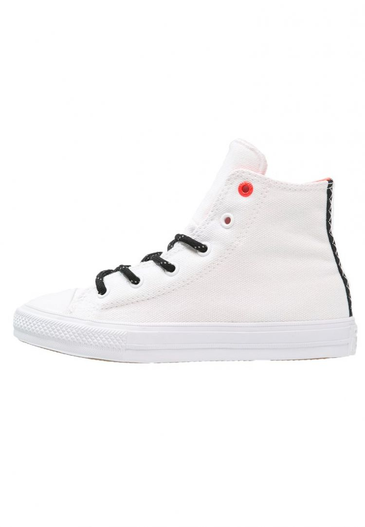 Image Converse Chuck Taylor All Star Ii Sneakers Hoog White/reflective Lava