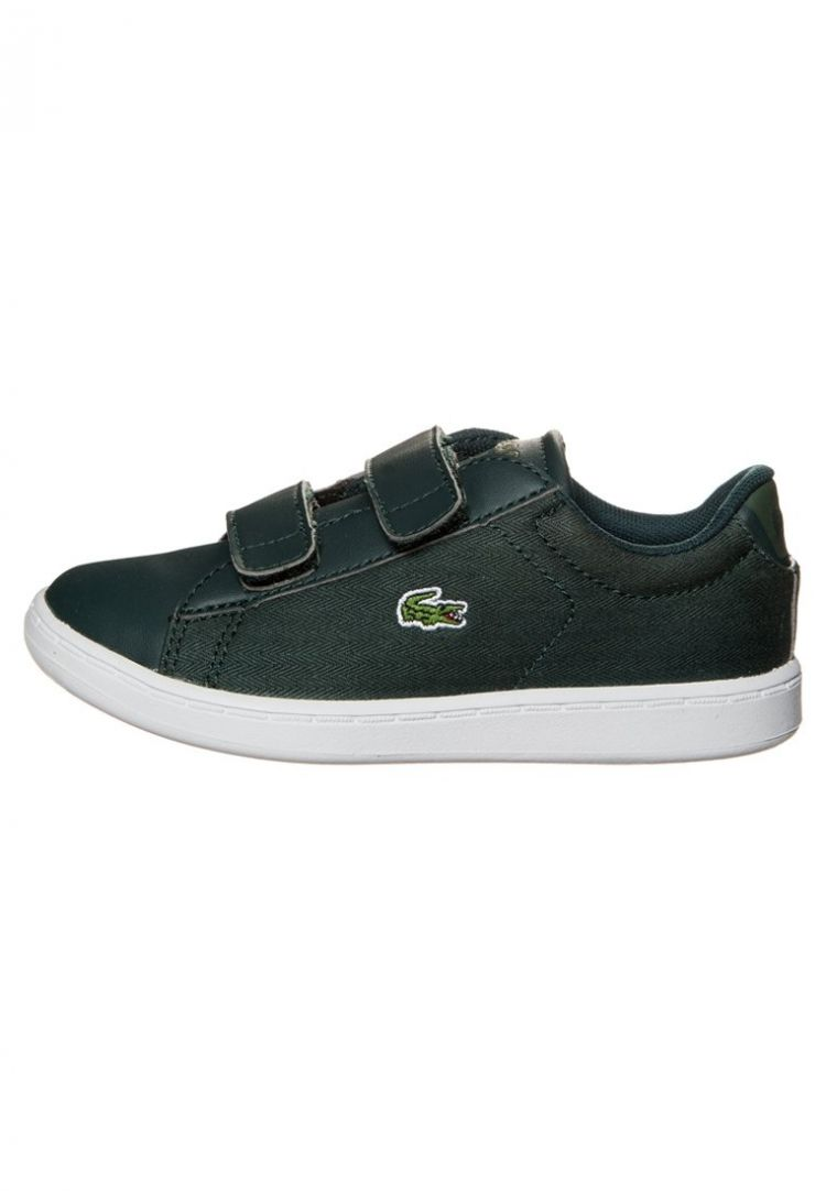 Image Lacoste Carnaby Evo Sneakers Laag Dark Green