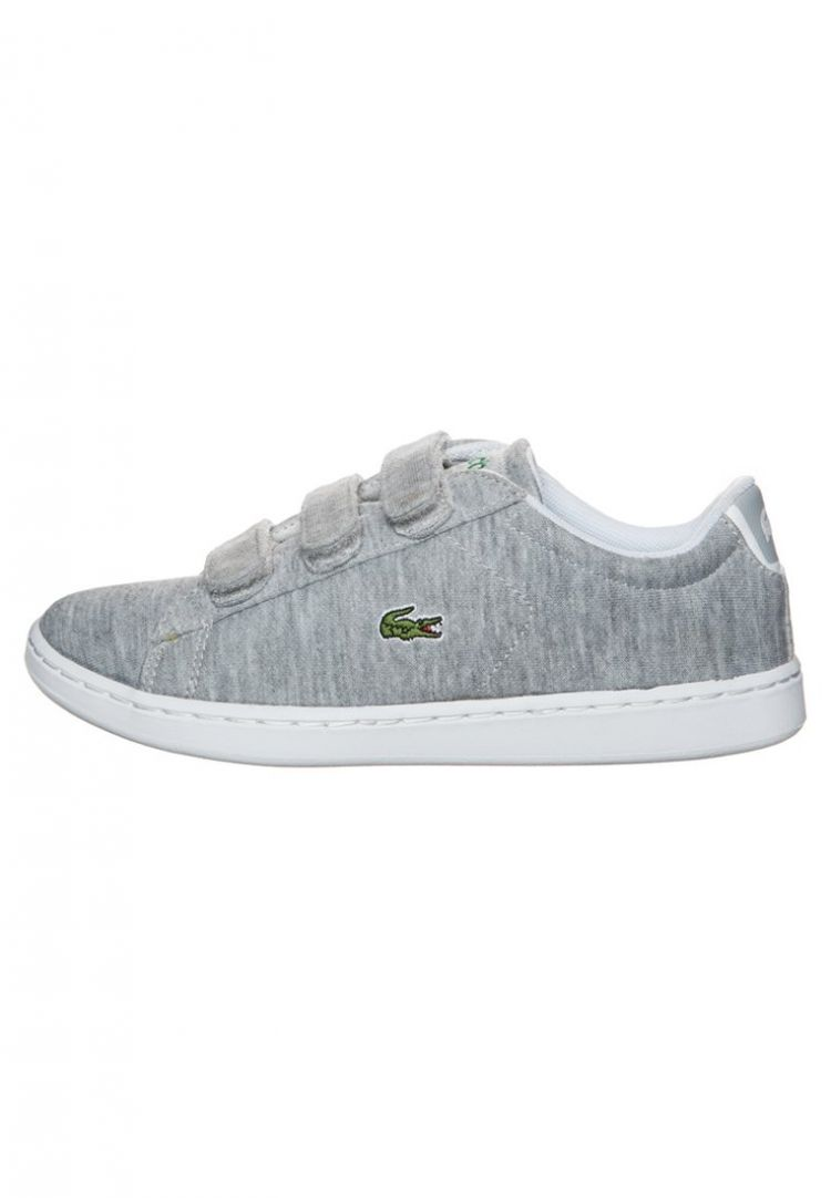 Image Lacoste Carnaby Evo Sneakers Laag Light Grey/dark Green