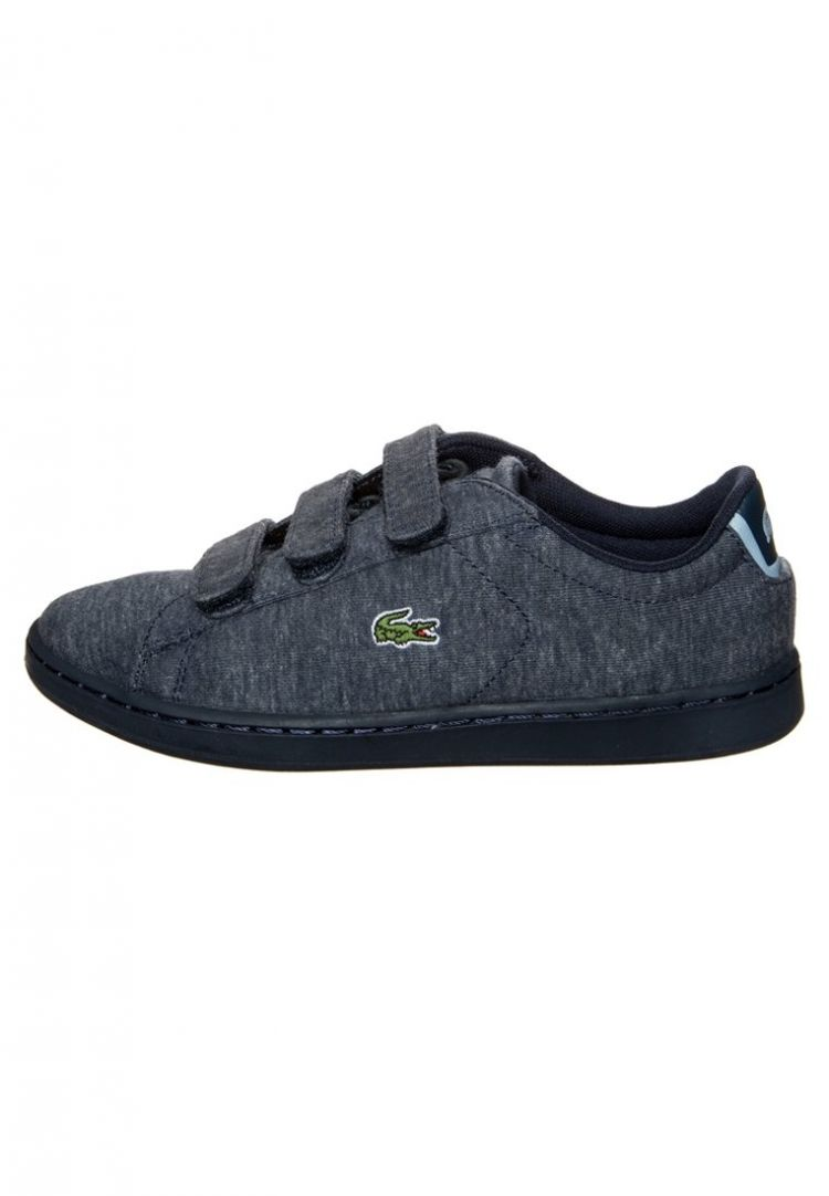 Image Lacoste Carnaby Evo Sneakers Laag Navy/light Blue