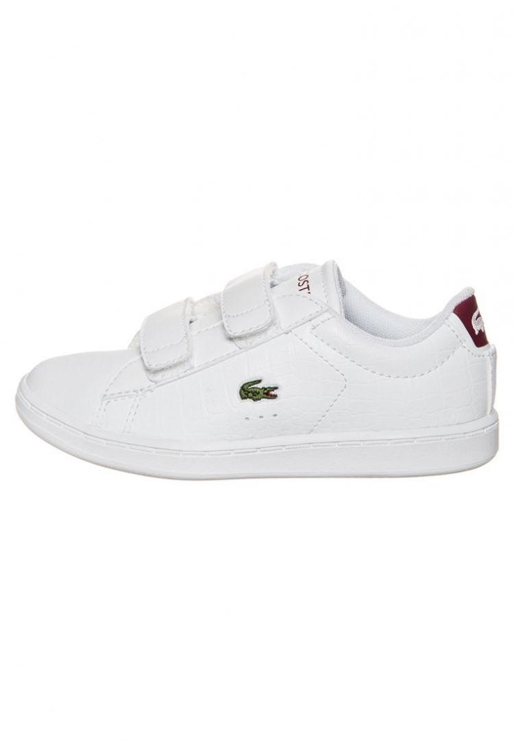 Image Lacoste Carnaby Evo Sneakers Laag White/red
