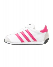 Adidas Originals Country Sneakers Laag White/bold Pink afbeelding