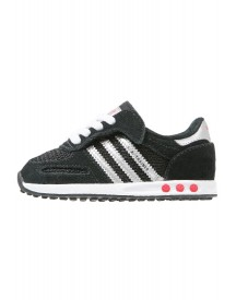 Adidas Originals La Trainer Sneakers Laag Core Black/silver Metallic/white afbeelding