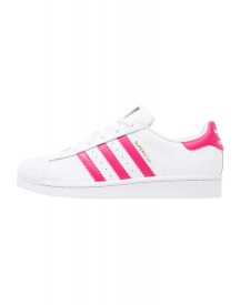 Adidas Originals Superstar Foundation Sneakers Laag White/bold Pink afbeelding