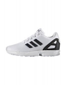 Adidas Originals Zx Flux Metallic Snake Sneakers Laag Midnight Solid Grey/core Black/white afbeelding