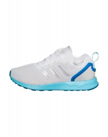 Adidas Originals Zx Flux Sneakers Laag Footwear White/blue Glow afbeelding