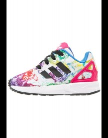 Adidas Originals Zx Flux Sneakers Laag White/core Black/bold Pink afbeelding