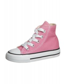 Converse Chuck Taylor Core Sneakers Hoog Pink afbeelding