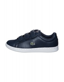 Lacoste Carnaby Evo Sneakers Laag Dark Blue/white afbeelding