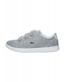 Lacoste Carnaby Evo Sneakers Laag Light Grey/dark Green afbeelding
