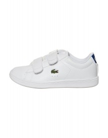 Lacoste Carnaby Evo Sneakers Laag White/blue afbeelding