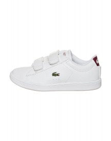 Lacoste Carnaby Evo Sneakers Laag White/red afbeelding