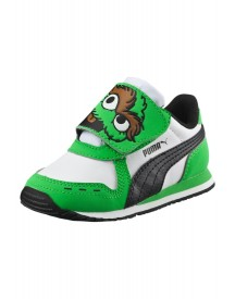 Puma Cabana Racer Sl Sneakers Laag Classic Green/puma White afbeelding