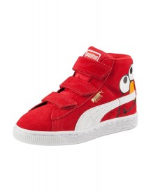 Puma Elmo Sneakers Hoog High Risk Red/puma White afbeelding
