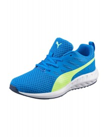 Puma Flare Jr. Sneakers Laag Electric Blue Lemonade/safety Yellow afbeelding