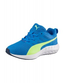 Puma Flare Ps Sneakers Laag Electric Blue Lemonade/safety Yellow afbeelding