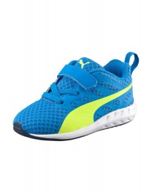 Puma Flare V Sneakers Laag Electric Blue Lemonade/safety Yellow afbeelding