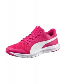 Puma Flexracer Jr. Sneakers Laag Beetroot Purple/puma White afbeelding