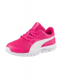 Puma Flexracer Ps Sneakers Laag Beetroot Purple/puma White afbeelding