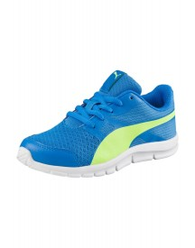 Puma Flexracer Ps Sneakers Laag Electric Blue Lemonade/safety Yellow afbeelding
