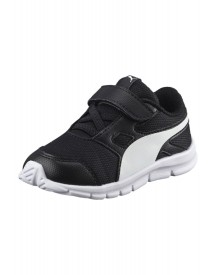 Puma Flexracer Sneakers Laag Black/white afbeelding
