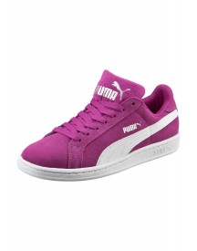 Puma Smash Sd Jr. Sneakers Laag Hollyhock/white afbeelding