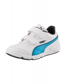 Puma Sneakers Laag White/atomic Blue afbeelding