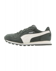 Puma St Runner Sneakers Laag Dark Shadow/whisper White/gray afbeelding