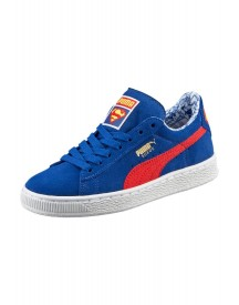 Puma Suede Superman Sneakers Laag Limoges/high Risk Red afbeelding