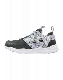 Reebok Classic Furylite Squad Sneakers Laag Black/lavender/white/lilac afbeelding