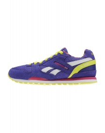Reebok Classic Gl 3000 Sneakers Laag Ultima Purple/rose Rage/hero Yellow afbeelding