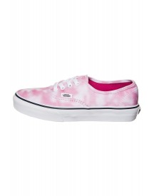 Vans Authentic Tie Dye Sneakers Laag Rose Violet afbeelding
