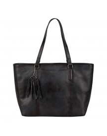 Burkely Noble Nova Wide Shopper Black afbeelding